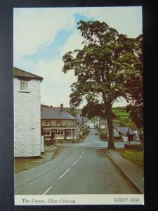 Wales GLYN CEIRIOG from THE CROSS c1970's Postcard KNBT 4358