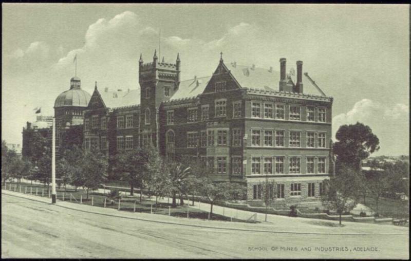 australia, ADELAIDE, School of Mines and Industries (1910s)