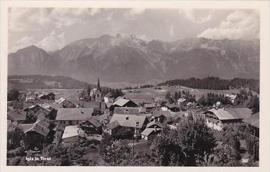 Austria Igls in Tirol Real Photo