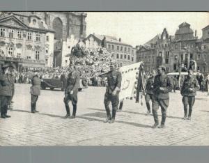 Czech Republic Military Postcard Praha Army. 02.30