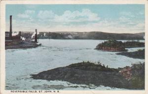 Reversible Falls, St. John, New Brunswick, Canada, 1910-1920s
