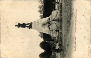 CPA St-MAIXENT - Statue Denfert Rochereau (472466)