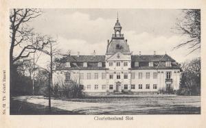 Charlottenlund Slot Denmark Old Postcard