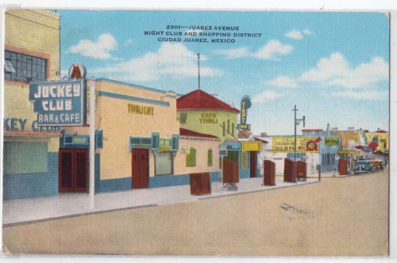 Juarez Ave. Ciudad Juarez Mex