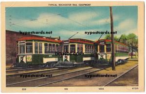Trolleys, Rochester NY