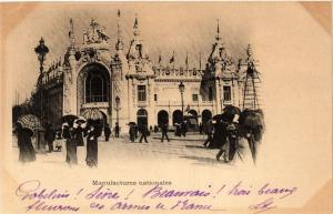 CPA PARIS EXPO 1900 - Manufactures Nationales (308459)