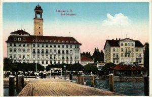 CPA AK Lindau I. B.- Bad Schachen GERMANY (882905)