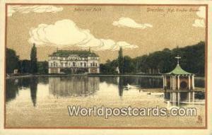 Dresden Germany, Deutschland Postcard Kgl Grober Garten  Kgl Grober Garten