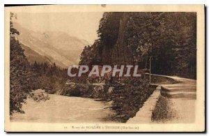 Postcard Old Road Morzine Haute Savoie Thonon