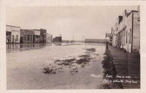 RP: Flooded Main Street , PRELATE , Saskatchewan , Canada , 1923