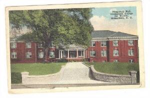 Exterior, Fitzgerald Hall,Greensboro College for Women, Greensboro,North Caro...