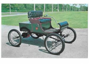 1901 Oldsmobile Curved Dash One Cylinder Price $650 Wooden Wheels Extra