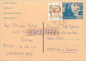Entier Postal Switzerland 1994 Paris