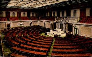 Washington D C United States Capitol Hall Of Representatives 1915