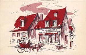 Aux Anciens Canadiens Restaurant,  St.Louis,  Quebec,  Canada,   40-60s