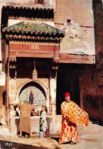 Morocco Scenes et Types Fontaine Nedjarine Fountain