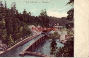 pre-1907 DALSLANDS CANAL. SWEDEN