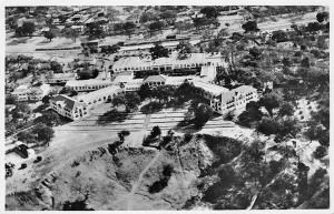 Zimbabwe An Aerial View of the Victoria Falls Hotel real photo