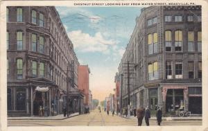 Chestnut Street looking East , MEADVILLE , Pennsylvania , PU-1918