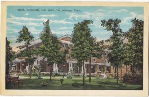 Signal Mountain Inn, near Chattanooga, Tennessee, 1910s-20s, unused Postcard