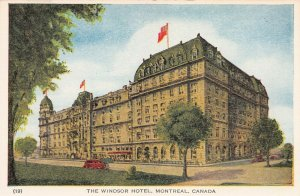 The Windsor Hotel, Montreal, Canada, early postcard, unused