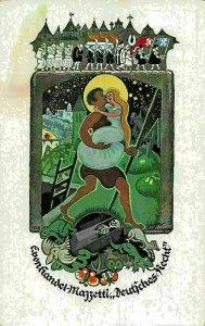 Deutsches Recht Tempera von Mar Kislinger Castle Art Postcard