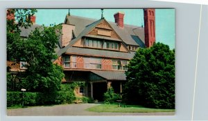 Newport RI-Rhode Island, The Baptist Home Of Rhode Island, Chrome Postcard