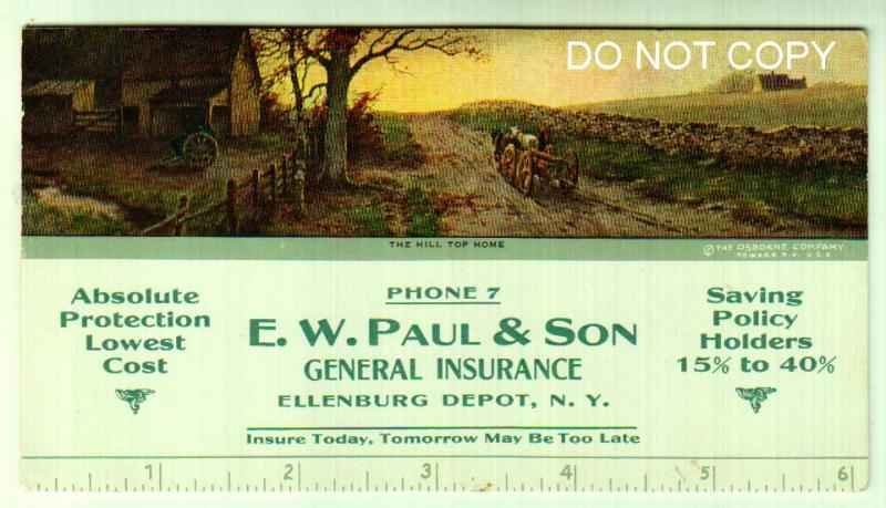 E. W. Paul General Insurance, Ellenburg Depot NY