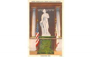 General Warren Statue Charlestown, Massachusetts Postcard