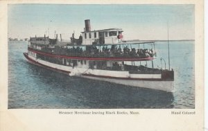 BLACK ROCKS , Massachusetts, 1900-10s , Steamer Merrimac
