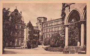 Germany Heidelberg Der Schlosshof