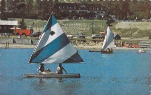 Auberge Yvan Coutu , Ste-Marguerite Station , Quebec , Canada , PU-1972 sailb...