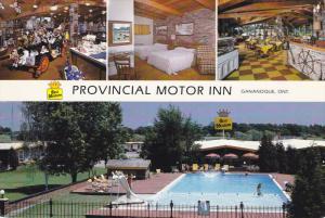 Provincial Motor Inn , GANANOQUE , Ontario , Canada , PU-1988