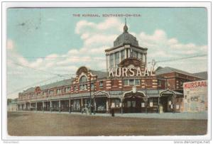 Kursaal Theatre Southend-On-Sea Essex UK 1910c postcard