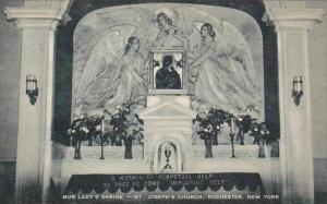 New York Rochester Our Ladys Shrine St Josephs Church Artvue
