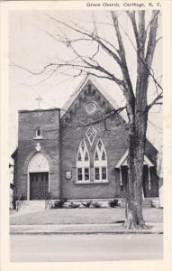 Grace Church, CARTHAGE, New York, 40-60's