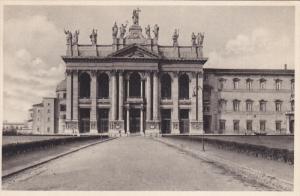Facciata Principale, Papale Arcibasilica Lateranense, ROMA (Lazio), Italy, 19...