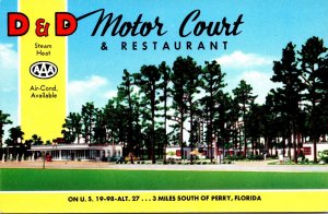 Florida Perry D & D Motor Court and Restaurant