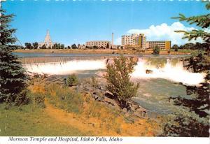 Mormon Temple & Hospital - Idaho Falls, Idaho, USA