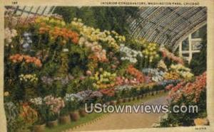 Conservatory, Washington Park Chicago IL 1939