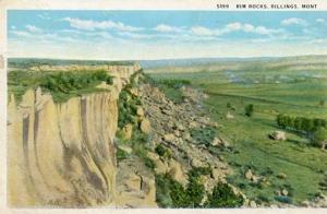 MT - Billings, Rim Rocks