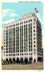 Texas Beaumont Goodhue Building1941 Curteich