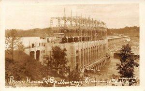 LP84 Conowingo Maryland  Dam Steel Bridge      RPPC  Postcard