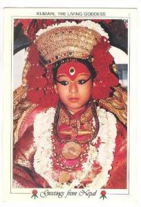 Kumari, The Living Goddess. NEPAL , 70-80s