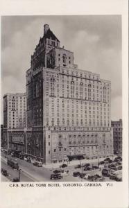 RP: C.P.R. Royal York Hotel , Toronto , Ontario , Canada , PU-1949