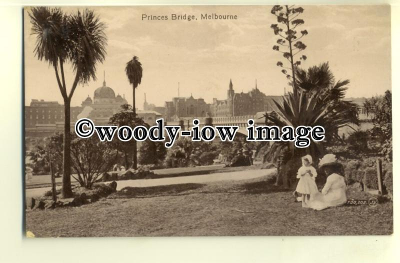 ft1331 - Australia - Melbourne , Princes Bridge - postcard