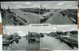 Germany Duisburg Hafen Hafenkanal etc - posted 1957