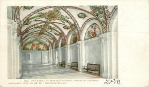 Washington DC~Library of Congress Interior~South Hall Pavilion~1900 Detroit Pub