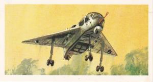 Trade Card Brooke Bond Tea History of Aviation black back reprint No 37 Short