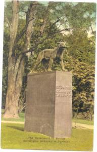 D/B The Catamount in Bronze in Bennington Vermont VT